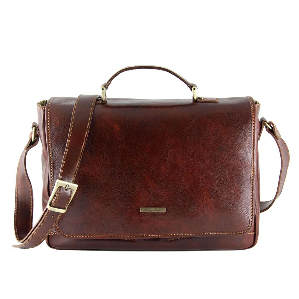 Padova Laptop Bag Leather Laptop Bag TUSCANY LEATHER