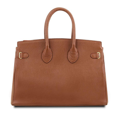 TL Classica Leather Handbag Leather Handbag TUSCANY LEATHER