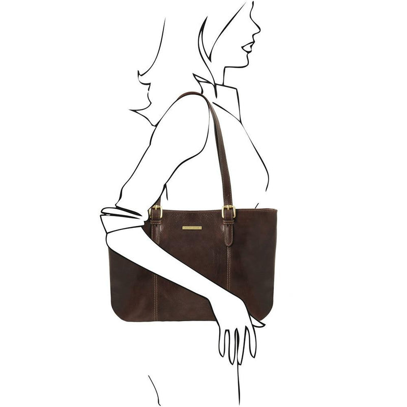 ANNALISA LEATHER HAND BAG