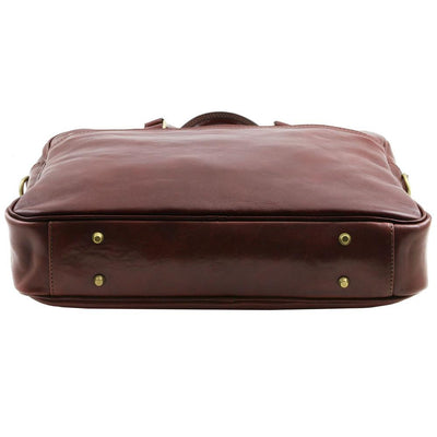 Urbino Laptop Bag Leather Laptop Bag TUSCANY LEATHER