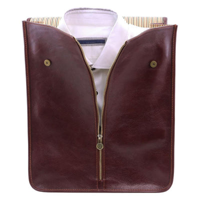 Exclusive Leather Shirt Case Leather Shirt Case TUSCANY LEATHER