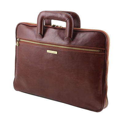 Caserta Document Case Leather Document Case TUSCANY LEATHER