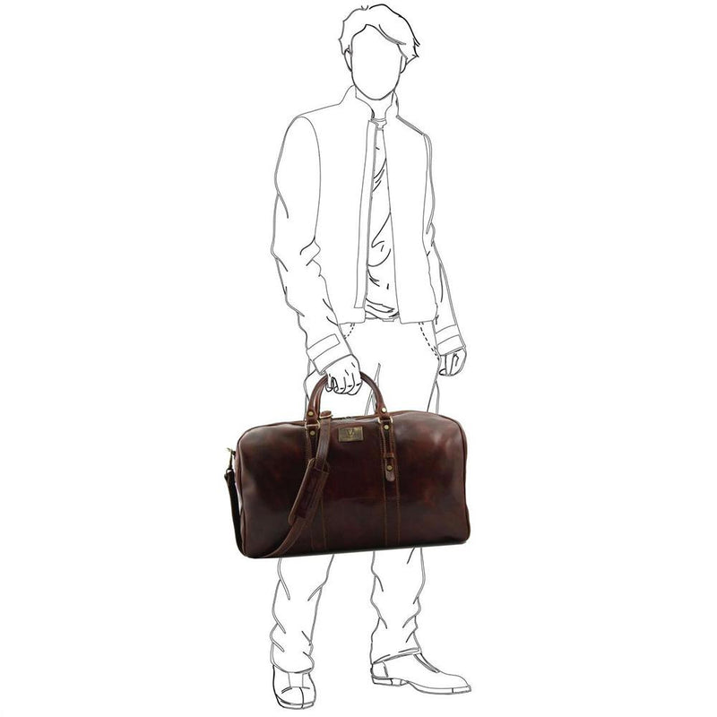 Francofote Duffle Bag Leather Duffle Bag TUSCANY LEATHER
