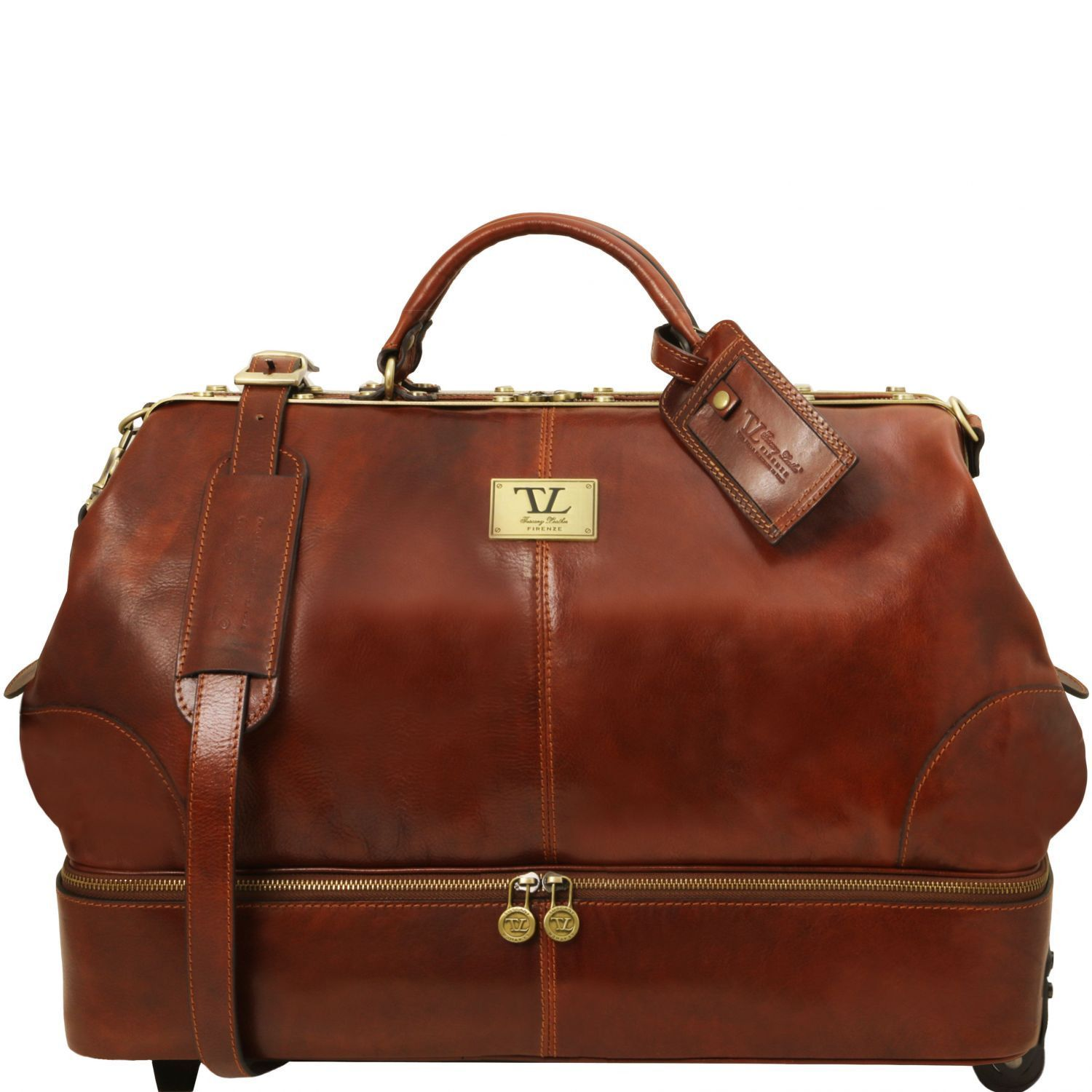 SIVIGLIA DOUBLE BOTTOM GLADSTONE BAG