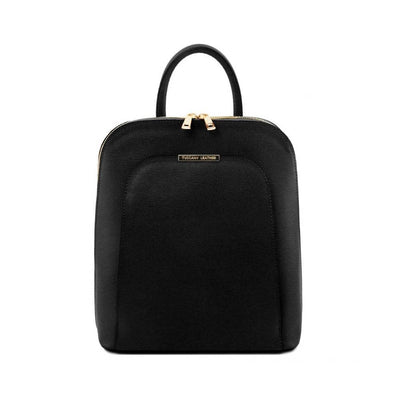 TL Saffiano Backpack Black