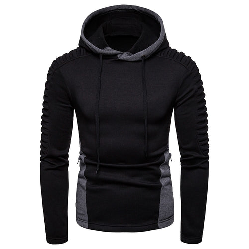 Long Sleeve Hooded Pullover Sweatshirt