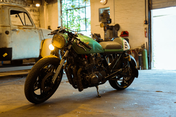 """Stick with it"" Anthony Ashback's 1981 Honda CB750 Cafe Racer Build"