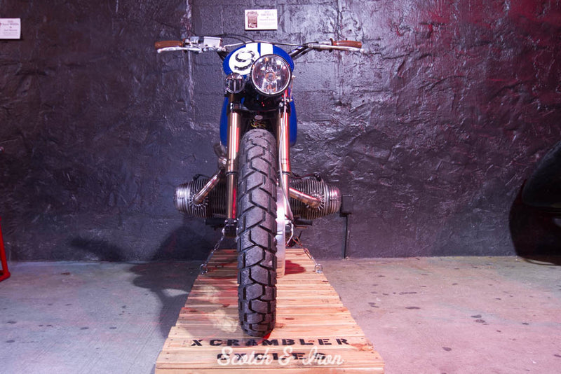 bmw scrambler motorcycle build