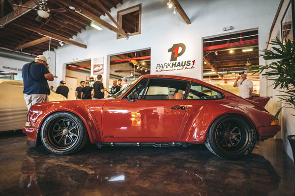 Porsche RWB Build Reveal at Parkhaus1 in Miami, Florida