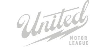 united motor league motorcycle automotive brand logo
