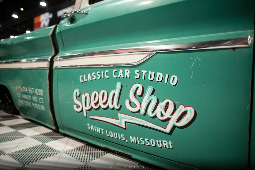Classic Car studio speed shop bagged and twin turbo chevy c10_3