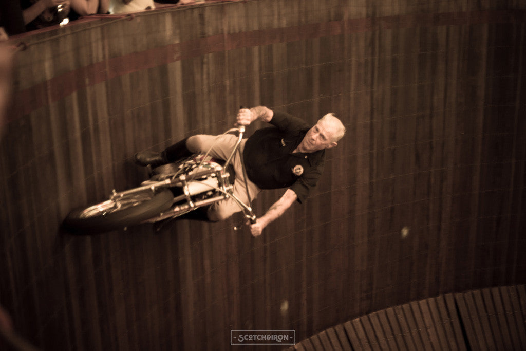 wall of death handbuilt show 2016