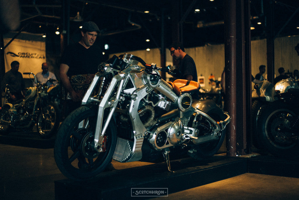 renegade cafe racer at handbuilt show 2016