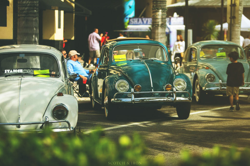 vintage beetles at volksblast miami blue