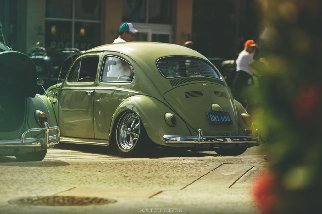 slammed vw bug at volksblast 2018