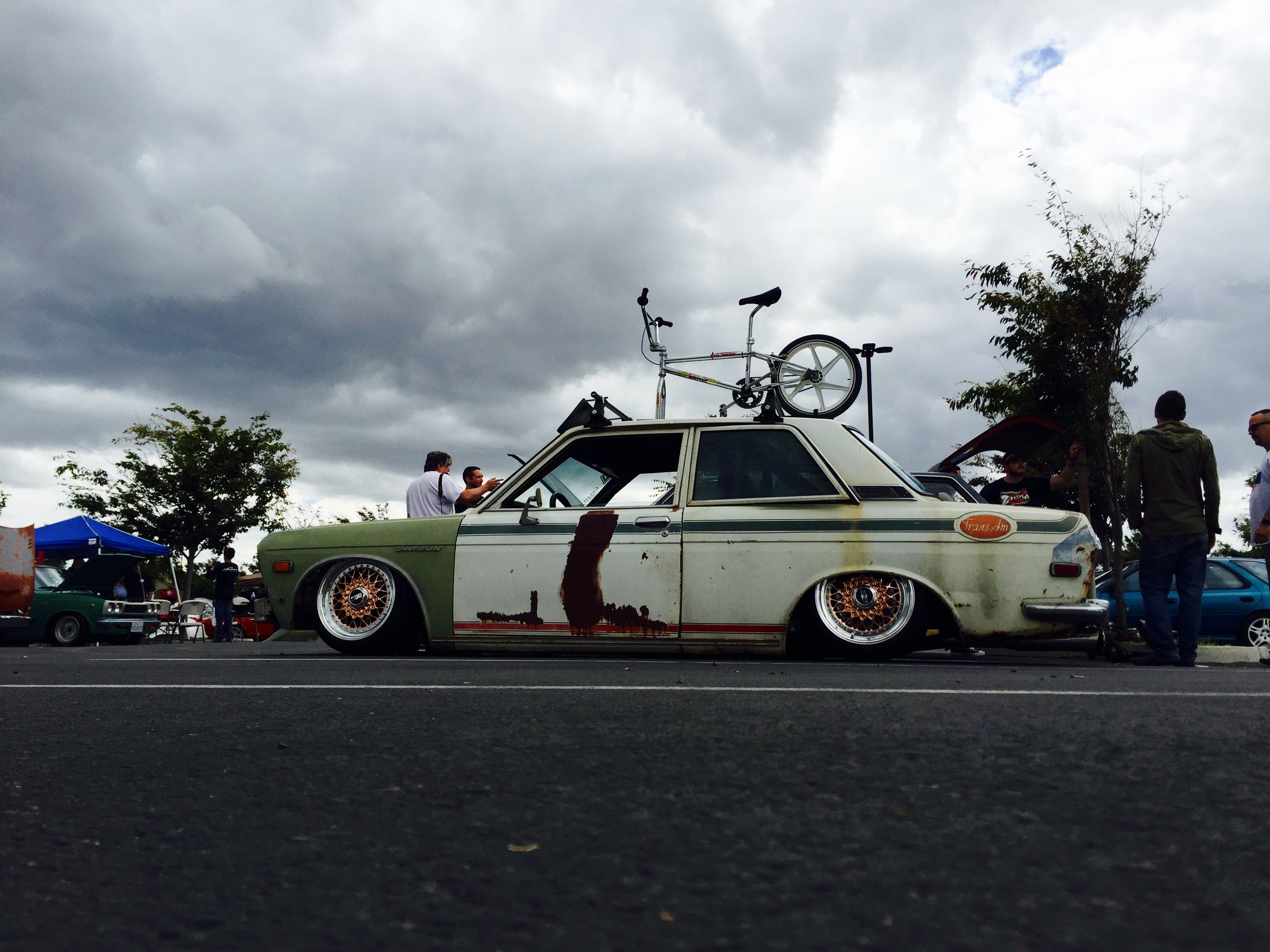 Bagged and Rotary Datsun 510_21