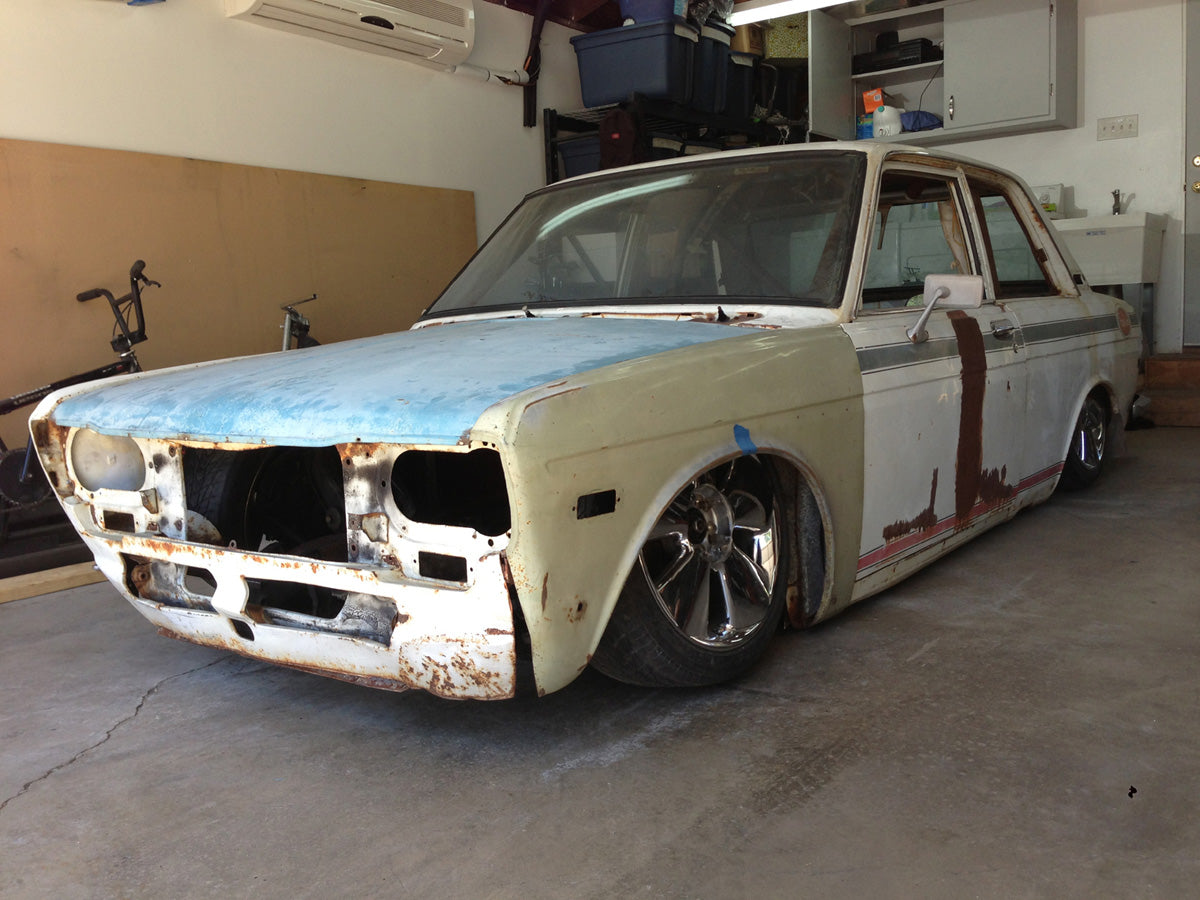 Bagged and Rotary Datsun 510_6