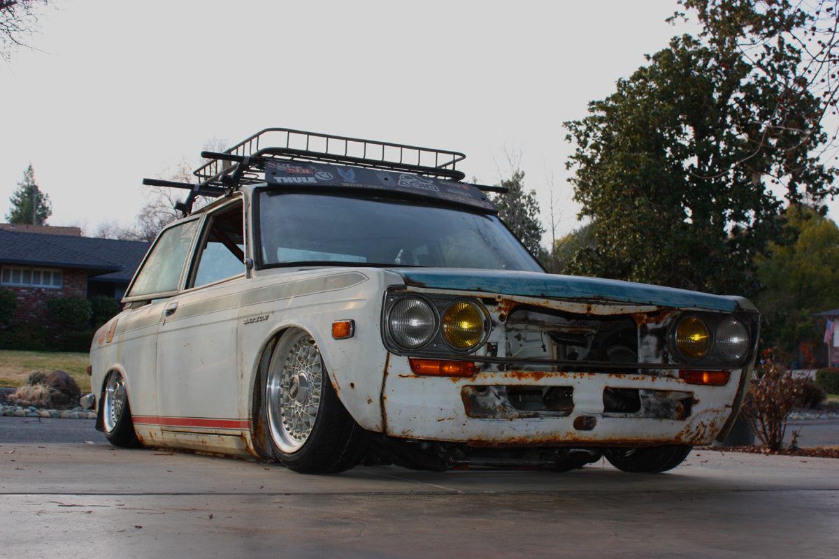 Bagged and Rotary Datsun 510_8
