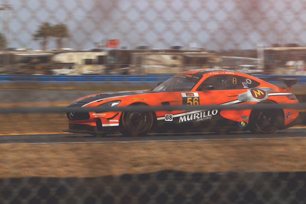 murillo racing mercedes gt4 at daytona