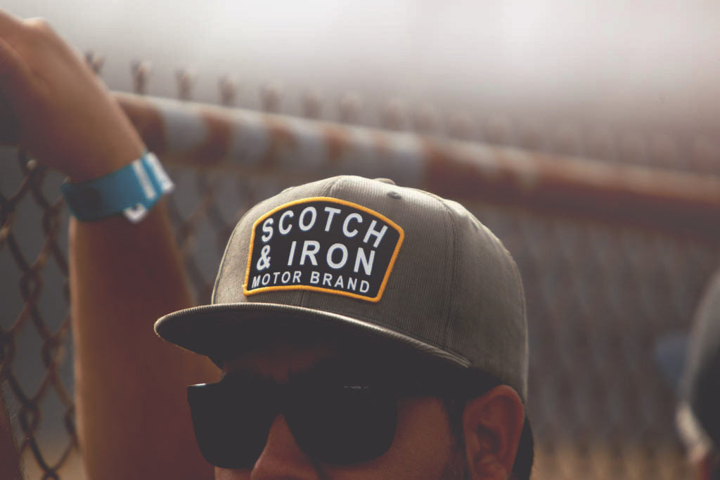 scotch and iron limited edition hat