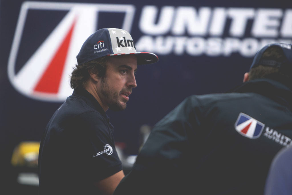 fernando Alonso at Daytona 24 hour