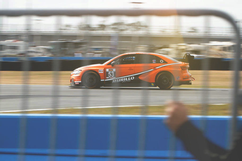 murillo racing audi a3 at daytona