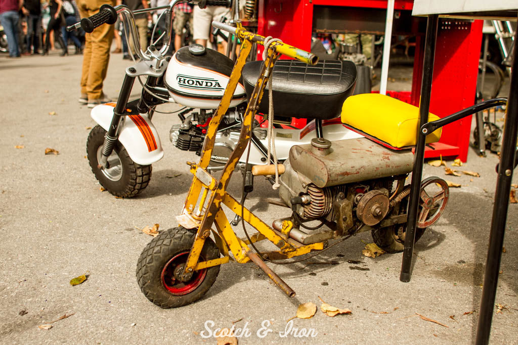 vintage honda mini bike