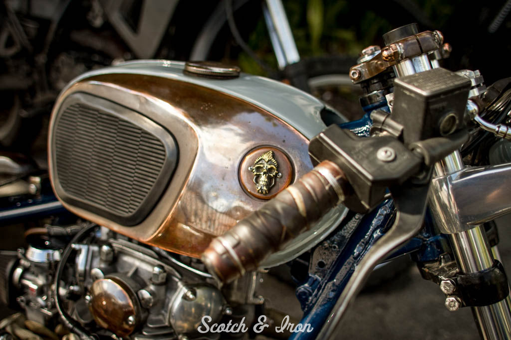 honda gas tank on xs650