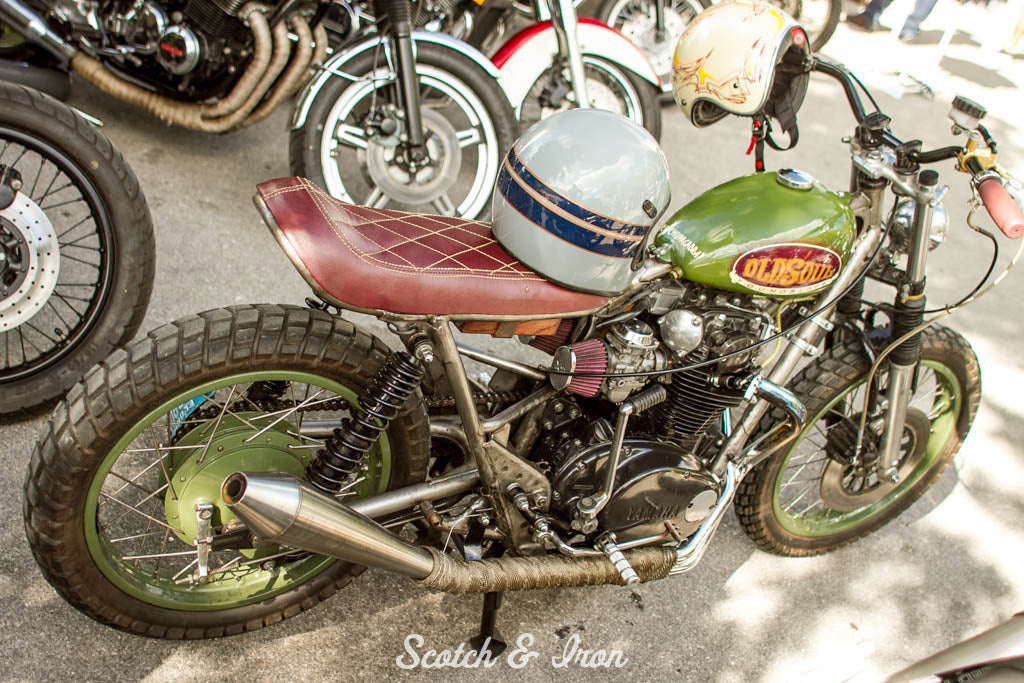 yamaha xs650 street tracker old soul young blood