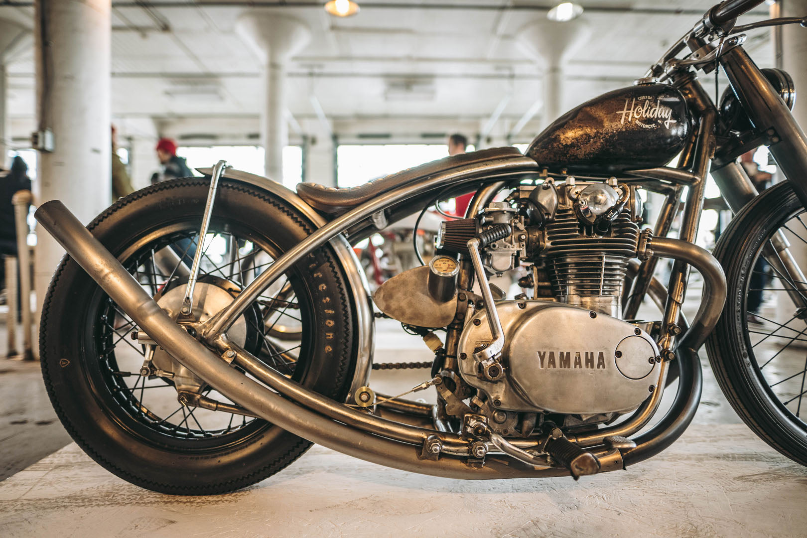 holiday cycles custom yamaha xs650 bobber