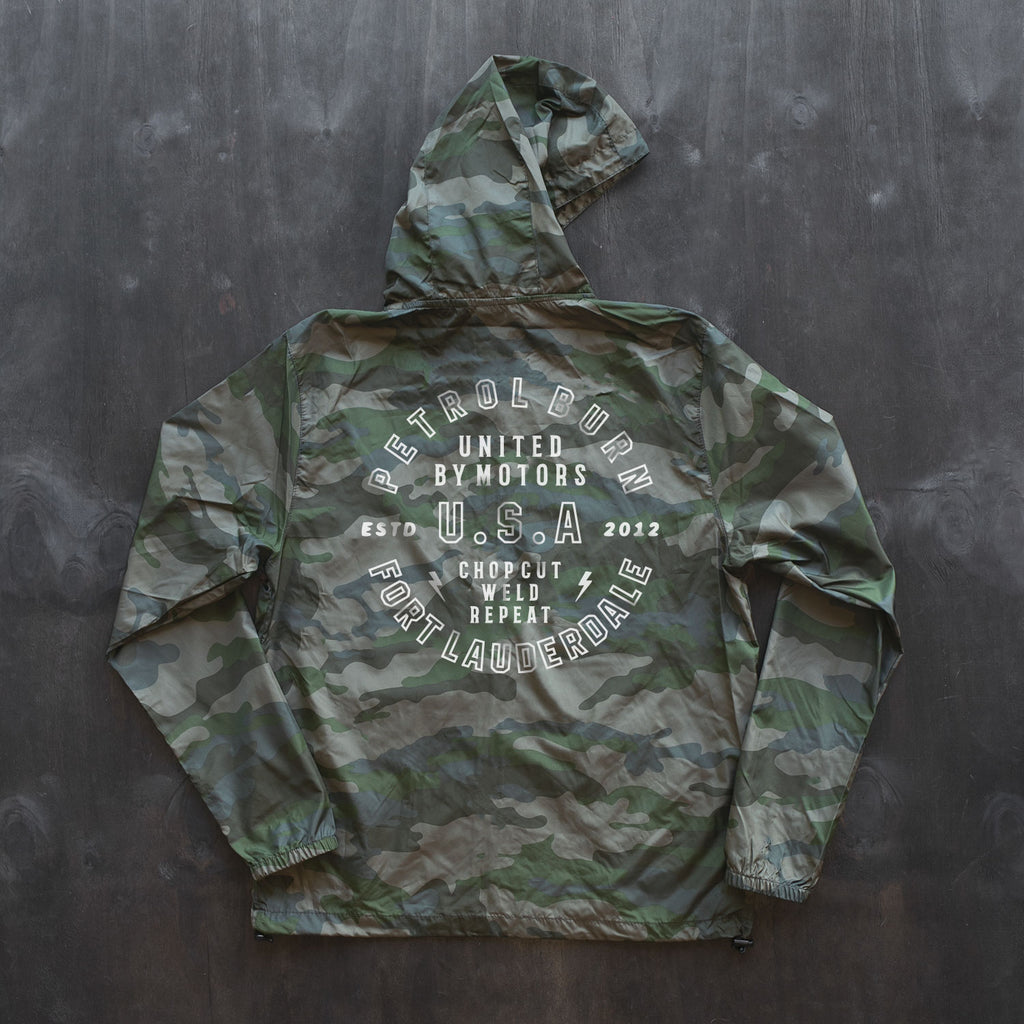 Light-Weight Camo Windbreaker