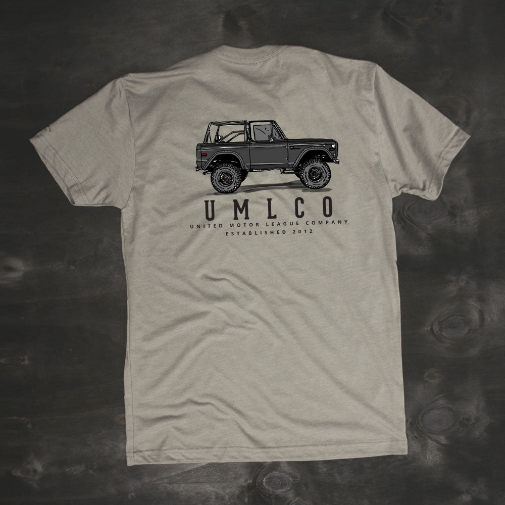 old school ford bronco inspired tshirt