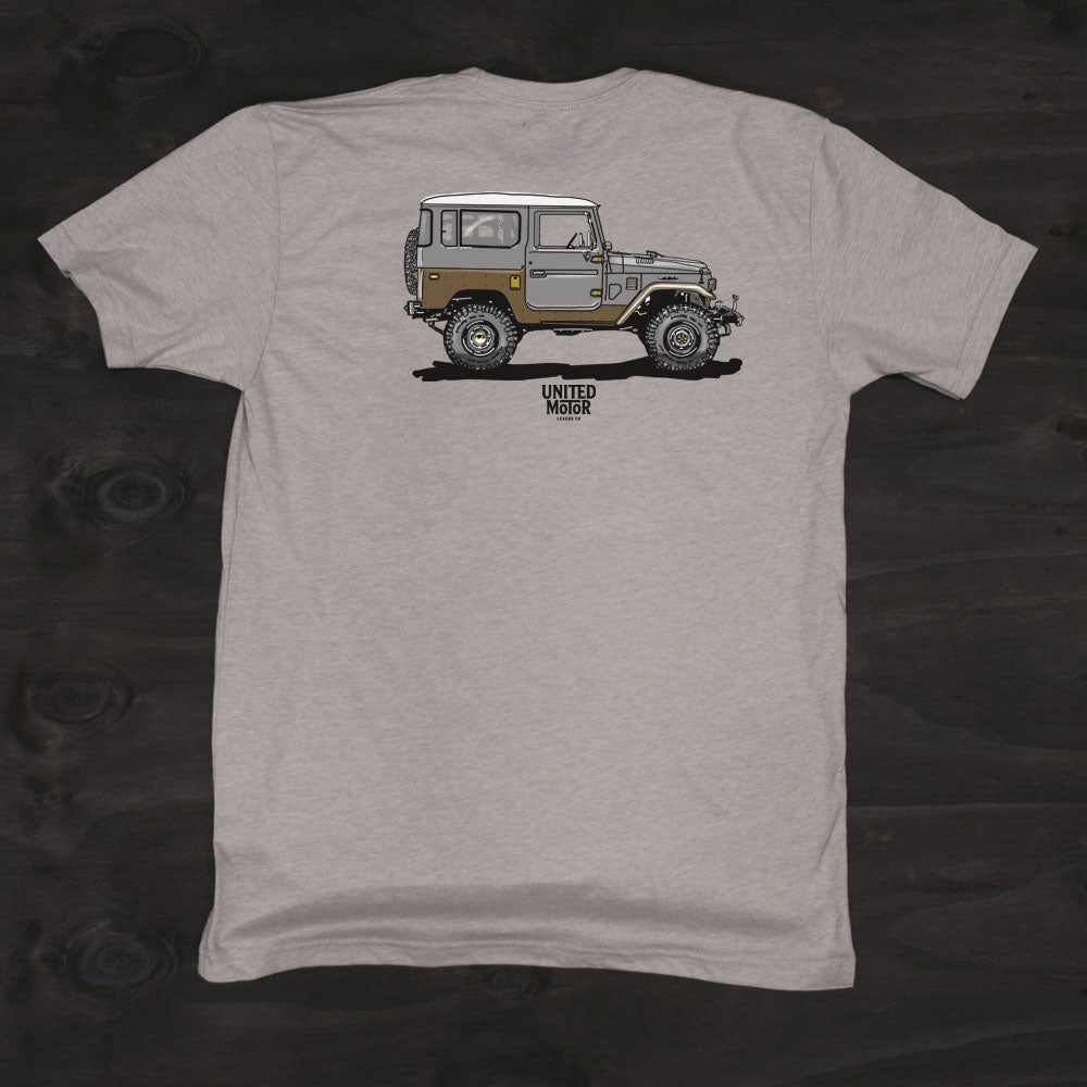 toyota land cruiser Fj40 custom mens tshirt
