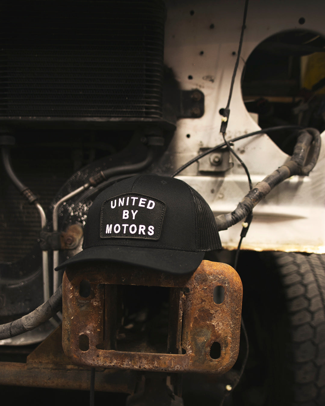 United By Motors Curved Bill