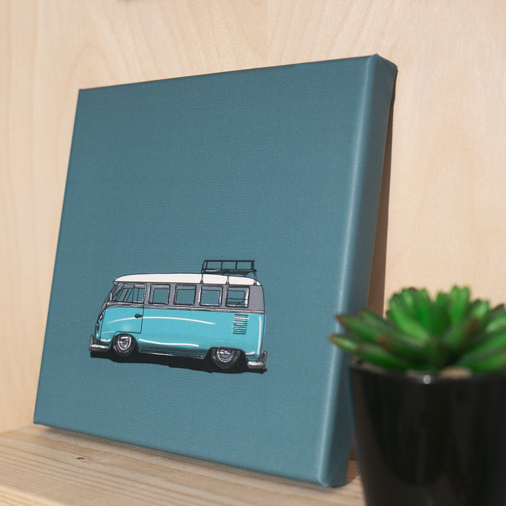 Speed Bus Canvas Print