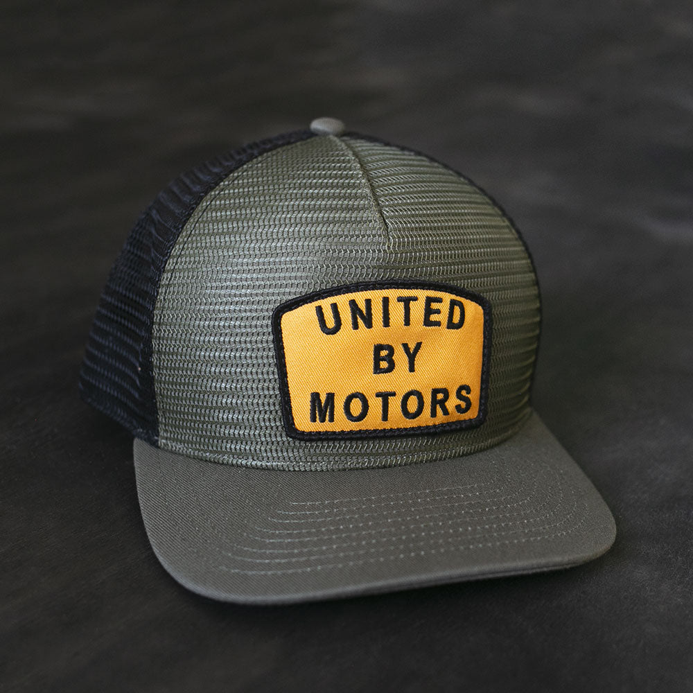 united by motors mesh hat from united motor league