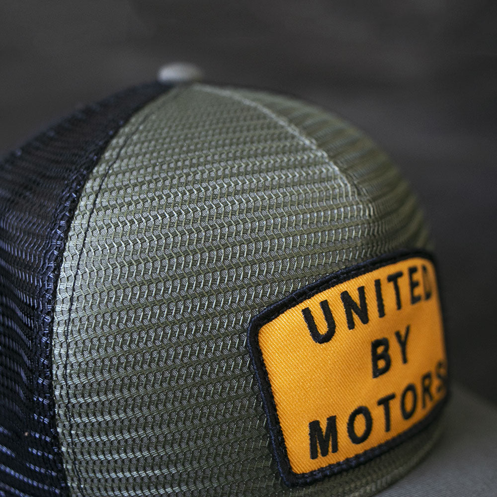 united motor league motorcycle and car lifestyle hat