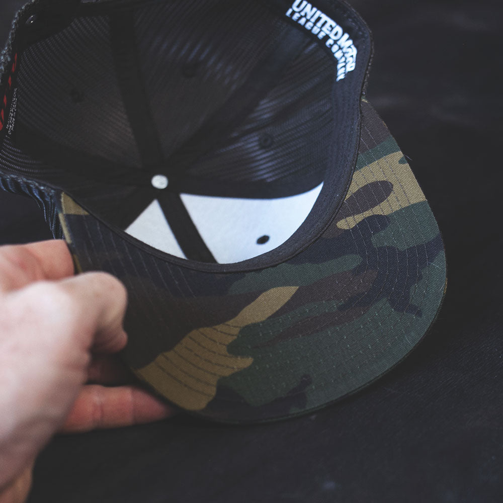 UMLCO Bolt Camo Trucker / Three Patch Kit