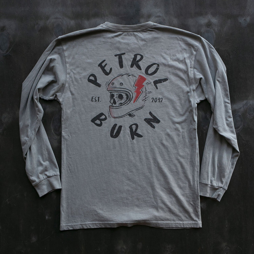 petrol burn clothing brain bucket long sleeve for motorcycle car lifestyle enthusiasts