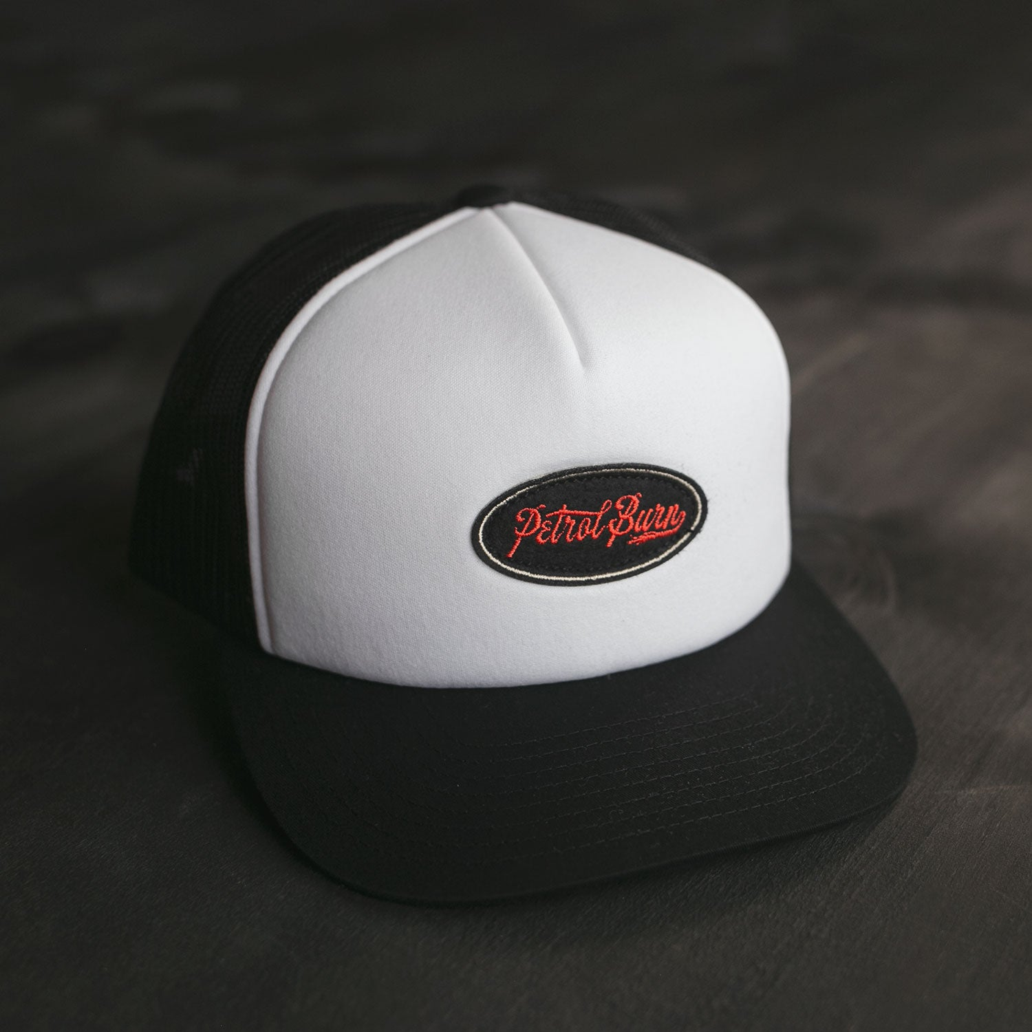 Retro Oval Padded Trucker