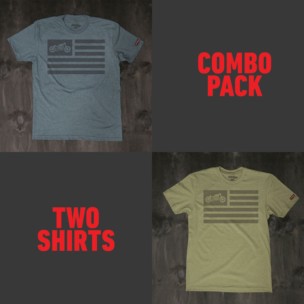United Moto Flag / Combo Pack