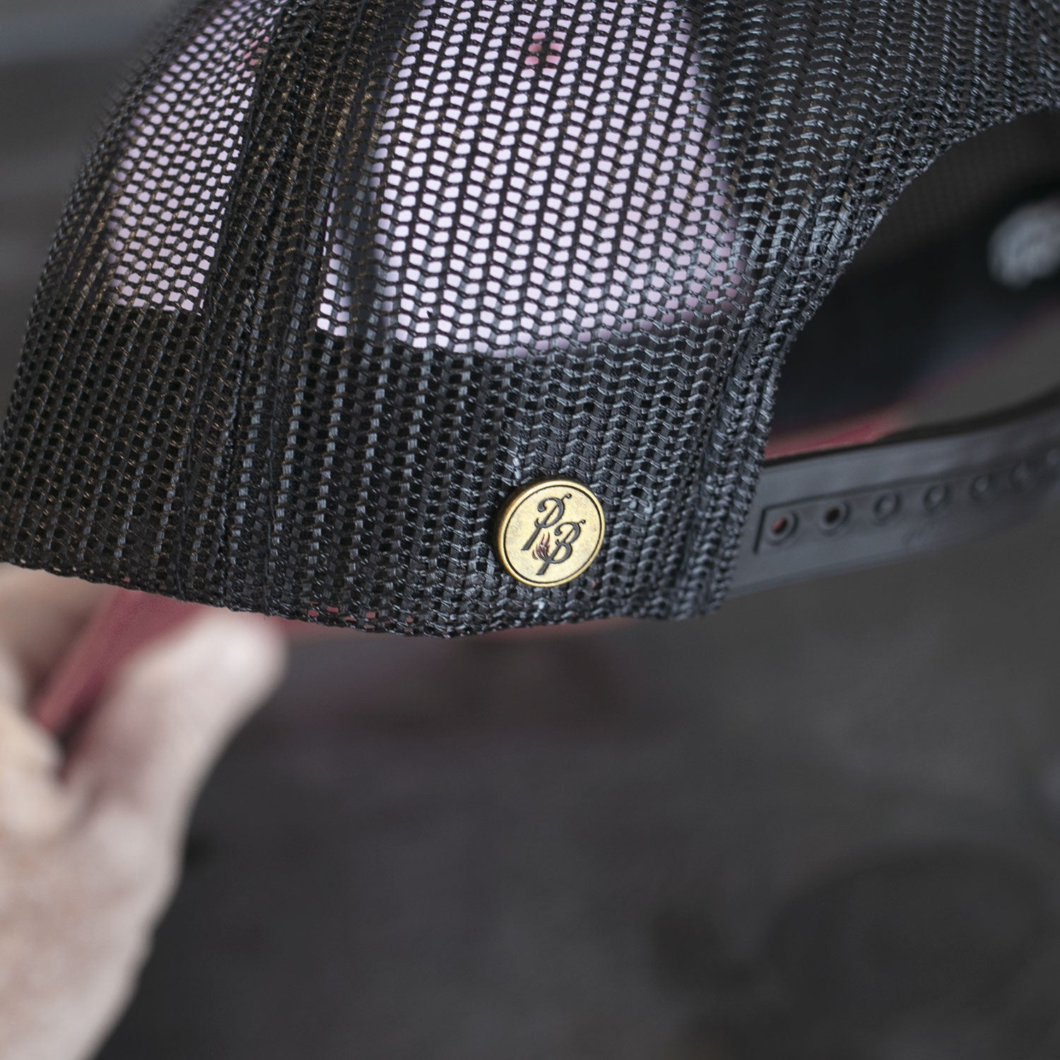 Baseball Logo III Padded Trucker