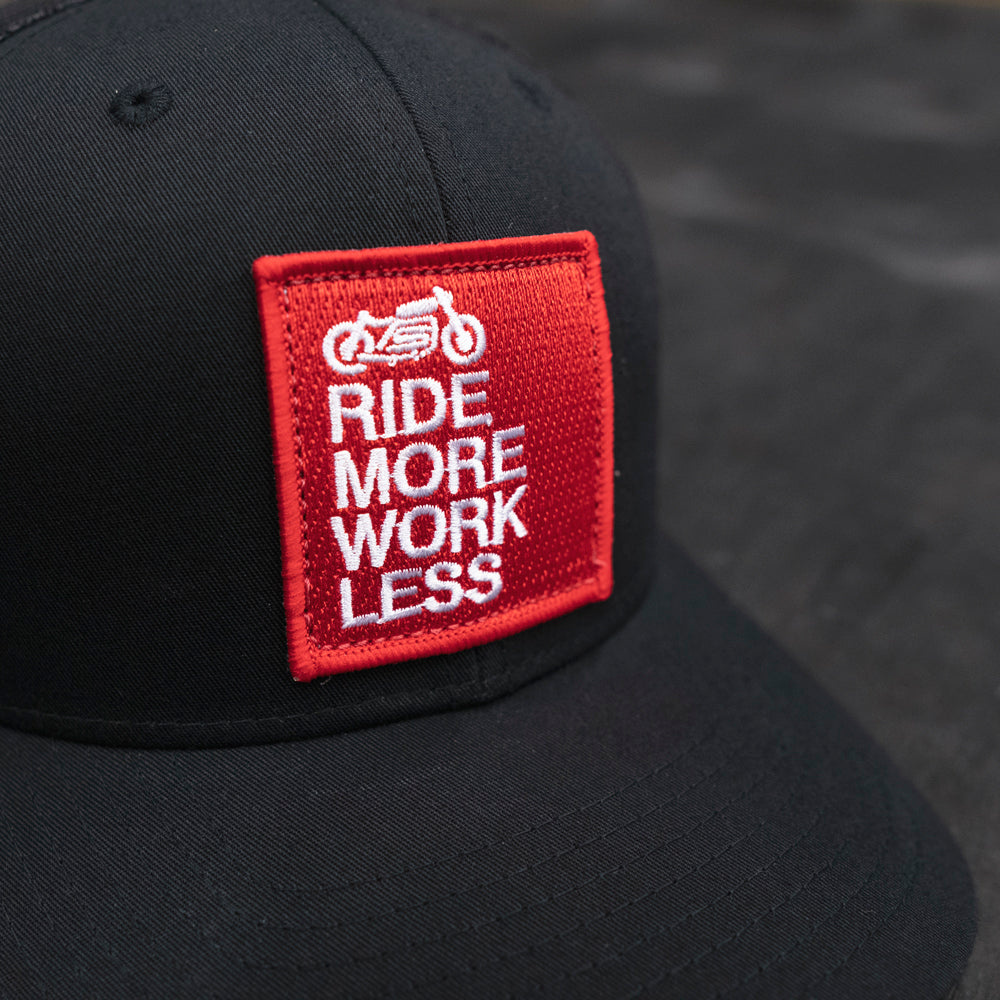 ride more work less patch