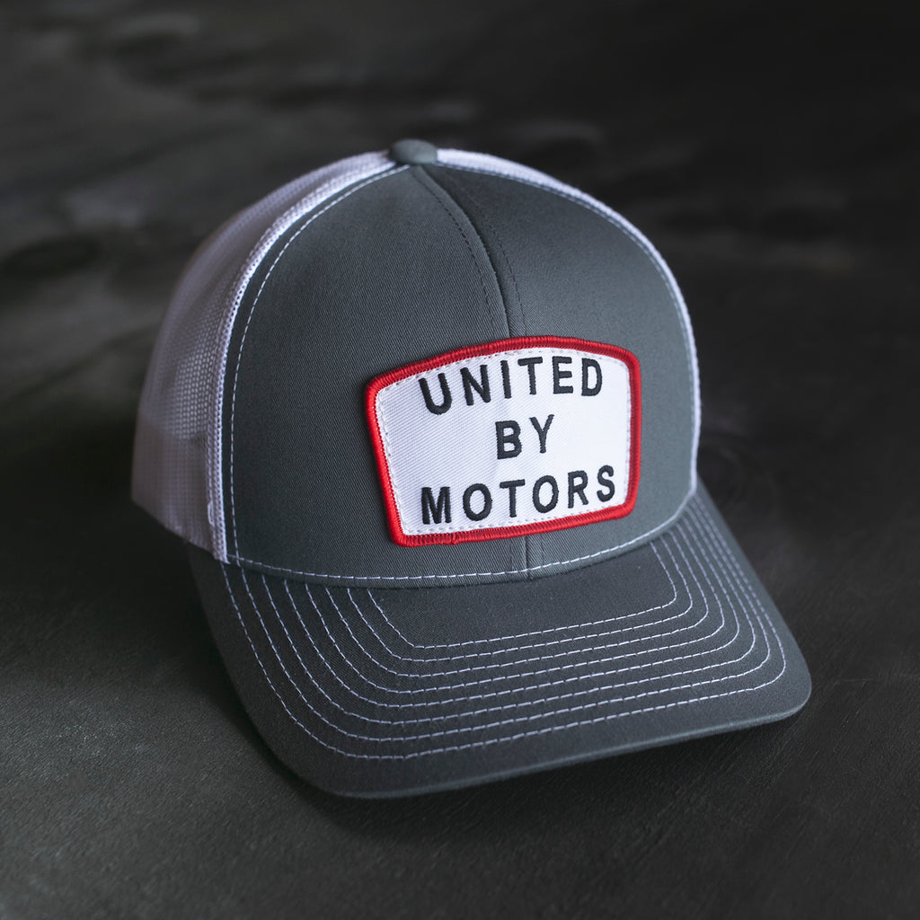 united by motors gasoline culture hat