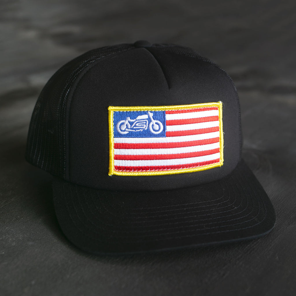 United Moto Padded Trucker