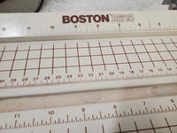 Vintage Boston 2615 Guillotine Grid Paper Cutter Machine