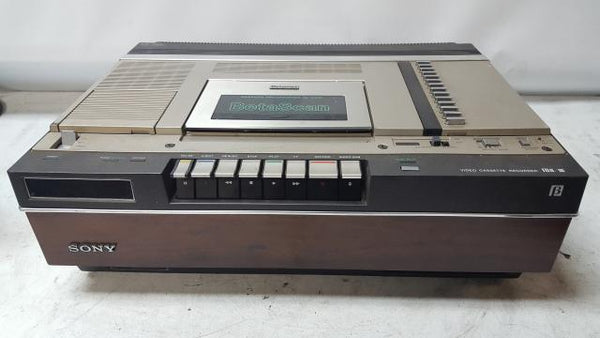 Vintage Sony SL-5400 Betamax Recorder Player Cut Cord