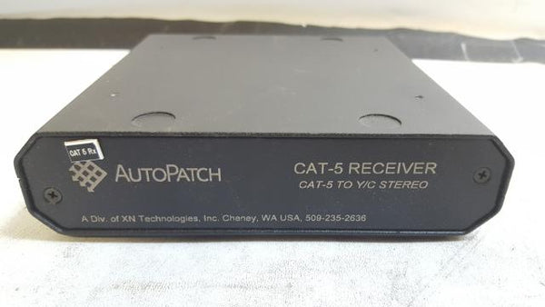 AutoPatch Cat-5 To Y/C Stereo Receiver RGBHV