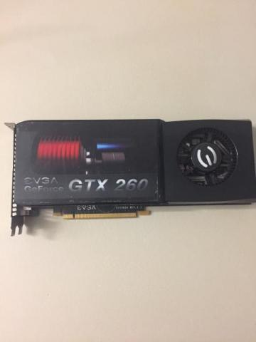EVGA GeForce GTX260 Dual DVI Video Graphics Card
