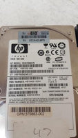 HP DG072BB975 72GB 10K SAS HDD Hard Drive with Caddy Tray